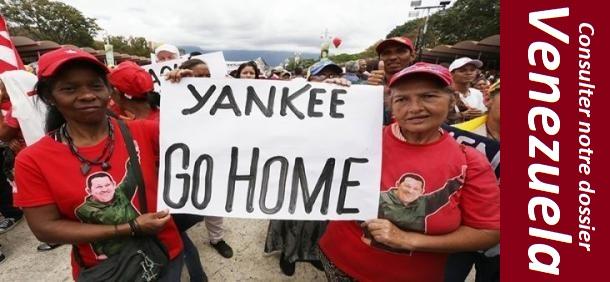 Venezuela - contre les menaces des États-Unis et la complicité du Canada