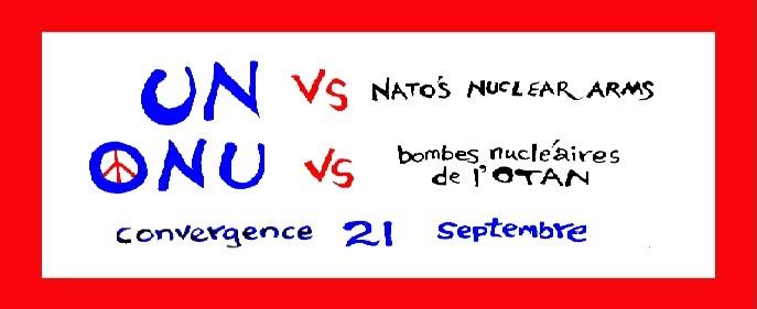 21 septembre - journée internationale pour la paix: Spectacle-cabaret et assemblée publique