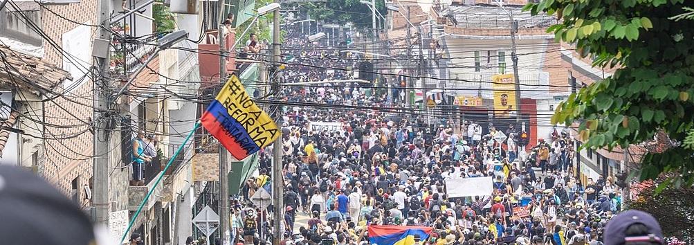 La lutte du peuple colombien et la solidarité à développer